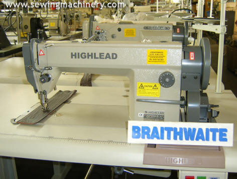 Highlead GC0318 sewing machine