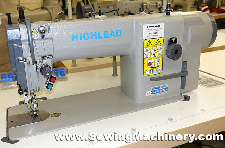 Highlead GC4040AZ Direct Drive Walking Foot Sewing Machine Awesome Braithwaite Industrial Sewing Machines