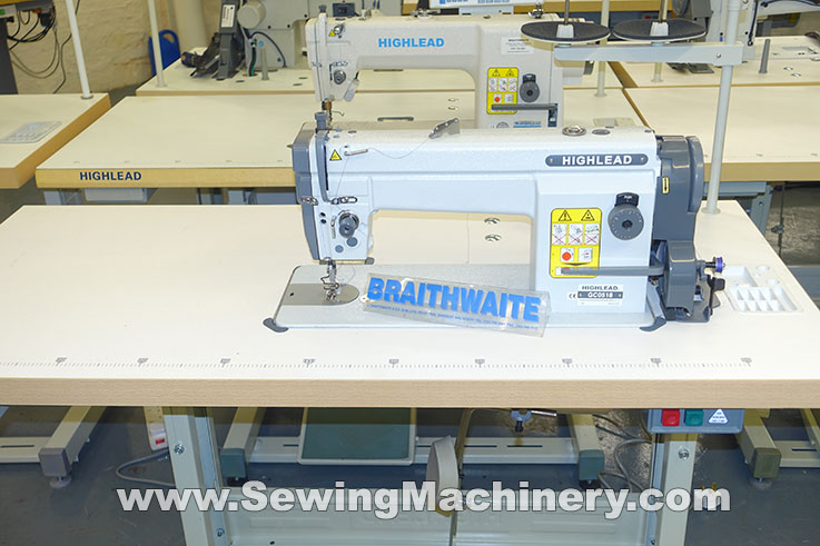 Highlead GC0518 needle feed sewing machine