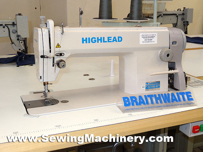 Highlead GC40 High Speed Flatbed Sewing Machine Lockstitch Inspiration Highlead Sewing Machine China
