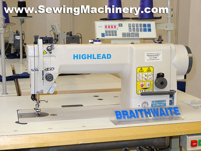 Highlead GC40MDZ Direct Drive Sewing Machine Magnificent Braithwaite Industrial Sewing Machines