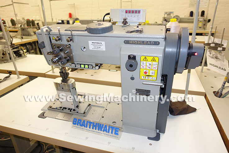 highlead GC24688-2D post bed sewing machine