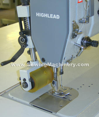 Highlead Puller feed zigzag sewing machine