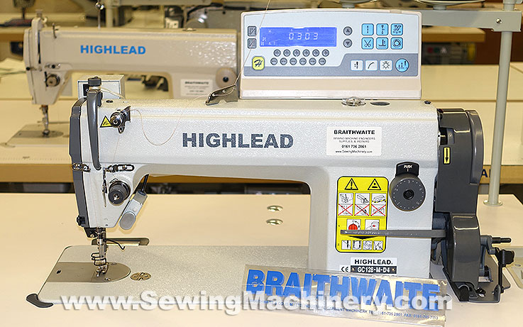 Highlead GC400MD40 Sewing Machine With Auto Thread Trimmer Awesome Braithwaite Industrial Sewing Machines