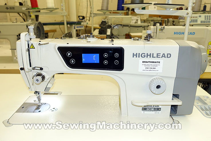 Highlead GC40 Series Industrial Sewing Machine Inspiration Braithwaite Industrial Sewing Machines