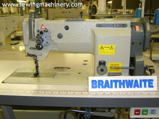 Highlead Gc20618 sewing machine