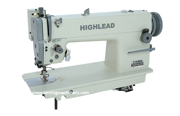 Highlead needle feed with thread trimmer