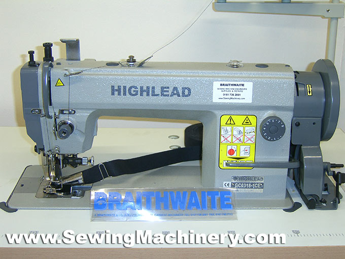 Highlead GC4040CE Side Knife Binding Sewing Machine Gorgeous Highlead Sewing Machine