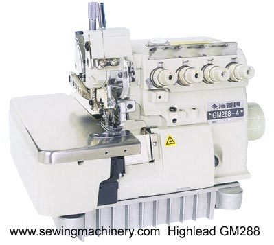 Highlead overlock sewing machine