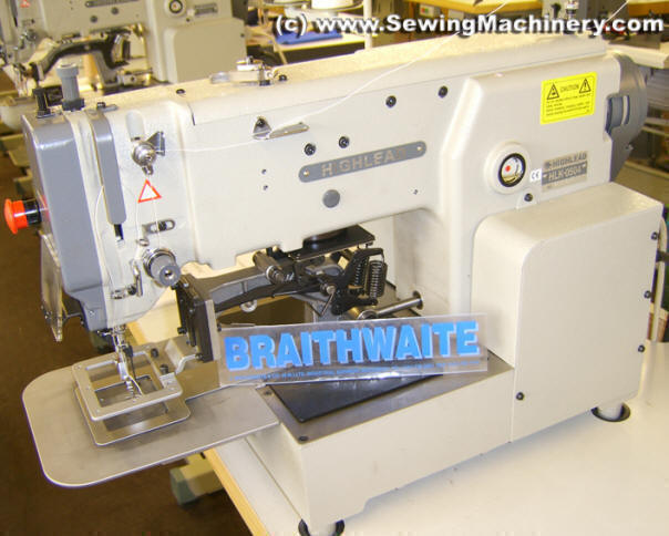 Highlead HLK40 Electronic Pattern Sewing Machine Industrial Awesome Braithwaite Industrial Sewing Machines