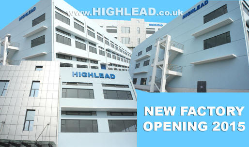 new Highlead sewing machine factory