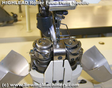 highlead roller feed sewing