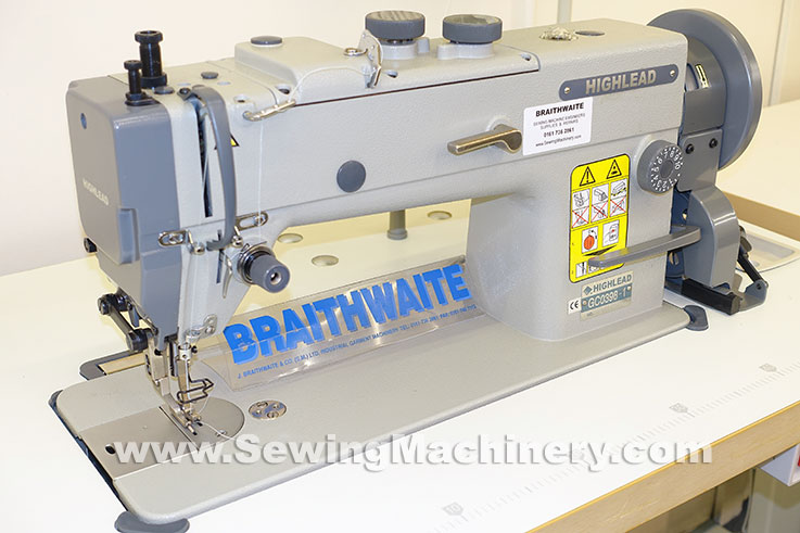 Highlead GC4040 Heavy Duty Walking Foot Sewing Machine Stunning Braithwaite Industrial Sewing Machines
