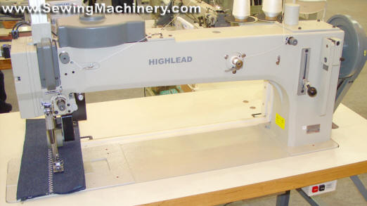 Extra heavy duty zigzag sewing machine Highlead